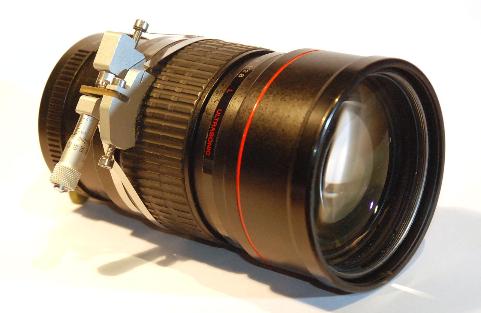 Canon EF 200 mm f/2.8 L I USM mit Fixfokus